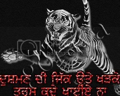 Khanda And Tiger Images