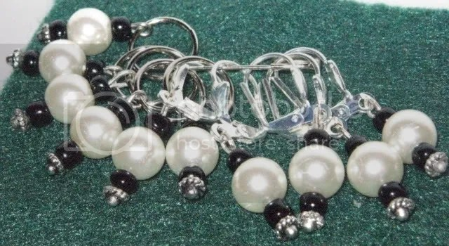pearly stitchmarkers
