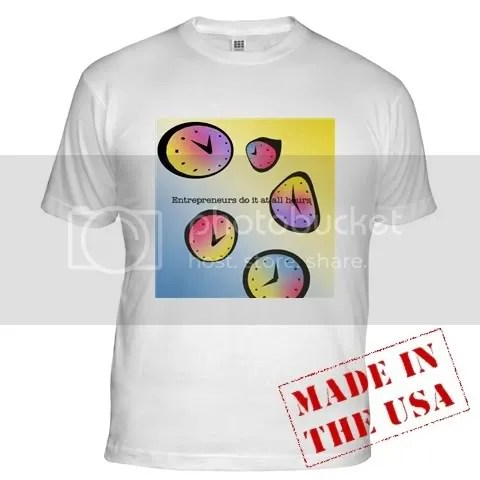 All Hours in Color Fitted T-Shirt