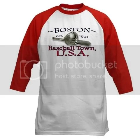 Boston Baseball Town, U.S.A. Baseball Jersey