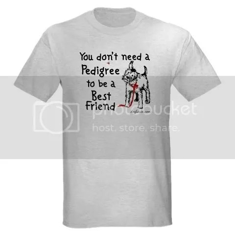 No Pedigree Needed Ash Grey T-Shirt