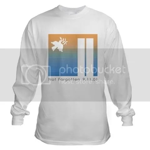 Not Forgotten 9/11/01 Long Sleeve T-Shirt