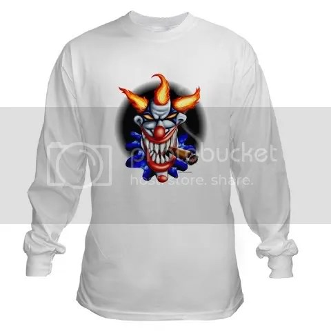 PSYCHO CLOWN Long Sleeve T-Shirt