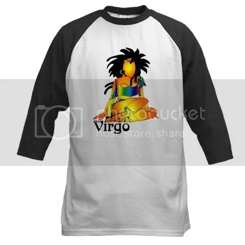 Whimsical Virgo Baseball Jersey