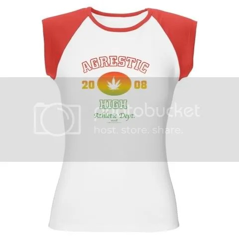 Weeds Agrestic High Women's Cap Sleeve T-Shirt