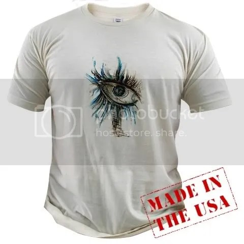 All Seeing Eye Organic Cotton Tee