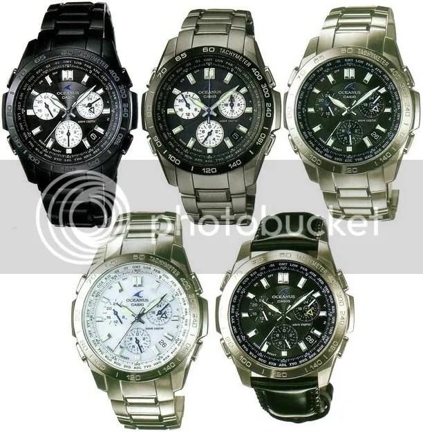 947be67ded0 Casio Oceanus OCW-600 Series « WristWatch