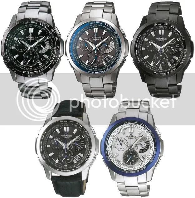 02c07f0dc65 Casio Oceanus OCW-M700 Series « WristWatch
