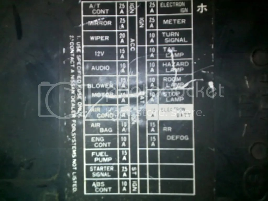 240sx wiring diagram 4age blacktop s14 fuse all data schematic and relay