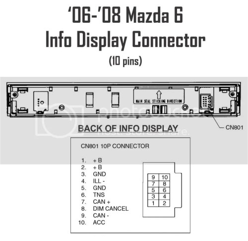 small resolution of mazda 6 radio wiring wiring diagram source 2010 mazda 6 aftermarket radio 2005 mazda 3 audio