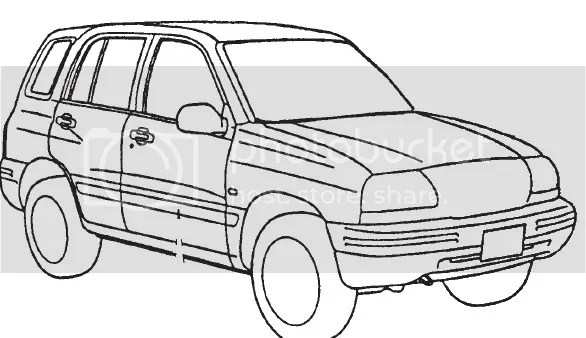2001 SUZUKI GRAND VITARA SERVICE AND REPAIR MANUAL