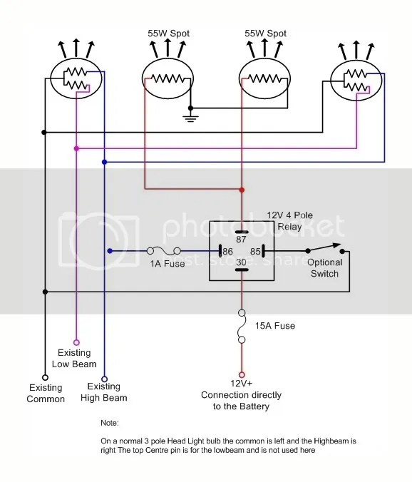 wiring diagram for relay spotlights coyote teeth of