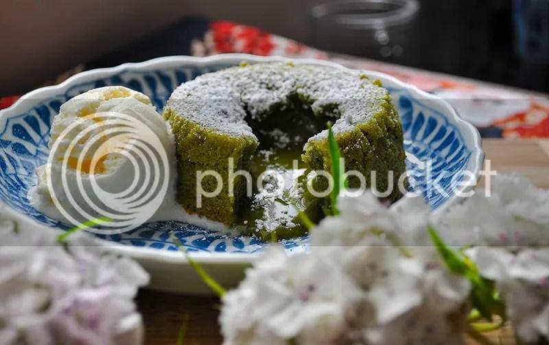 Matcha Lava Cake, Green Tea Lava Cake