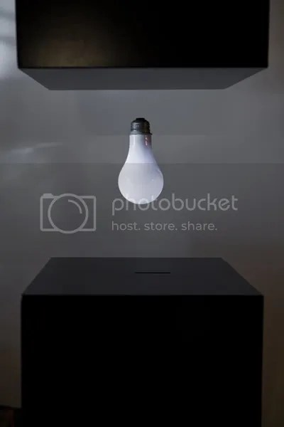 New Levitating Lightbulb