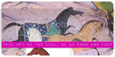 Thou art as the soul, We as Hand and Foot