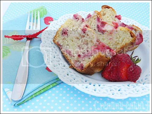 Fresh Strawberry Bread | Green House on Top of the Hill
