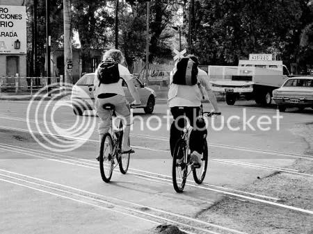 Ciclistas paralelos