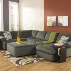 Microfiber Living Room Furniture Round Couches For Small Rooms Sonata Large Modern Pewter Sofa Couch Categories Home Bedrooms Bedroom Sets