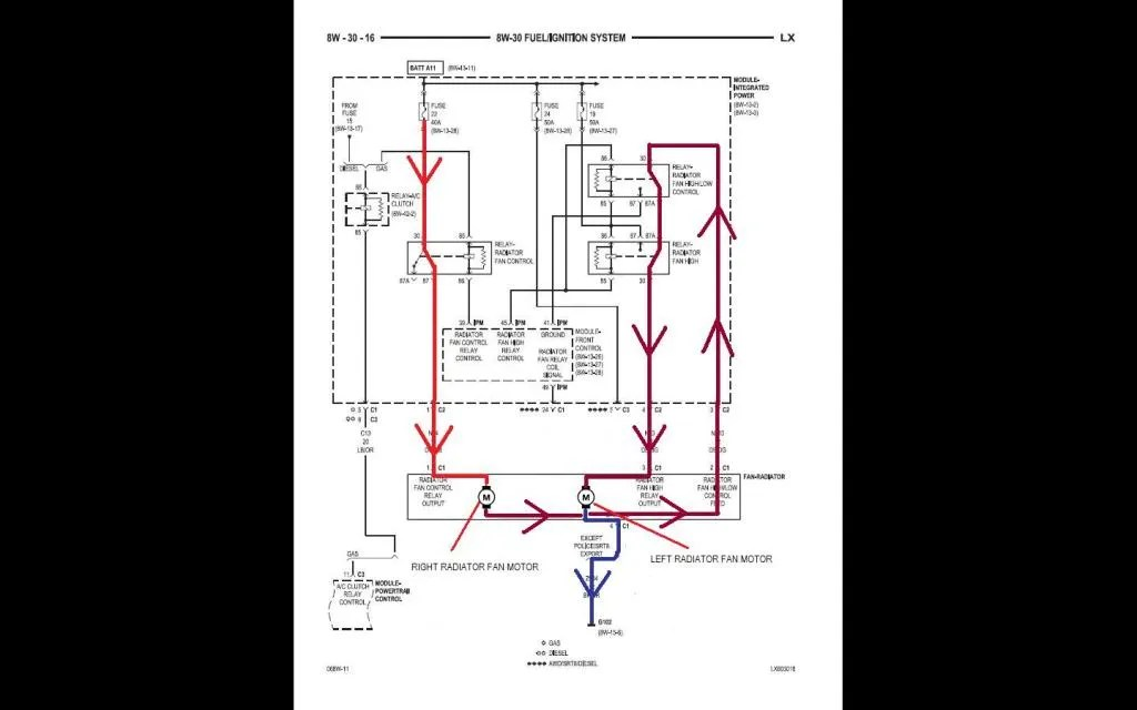 2006 Chrysler 300 Cooling Fan Relay Wiring Diagram Photos For Help