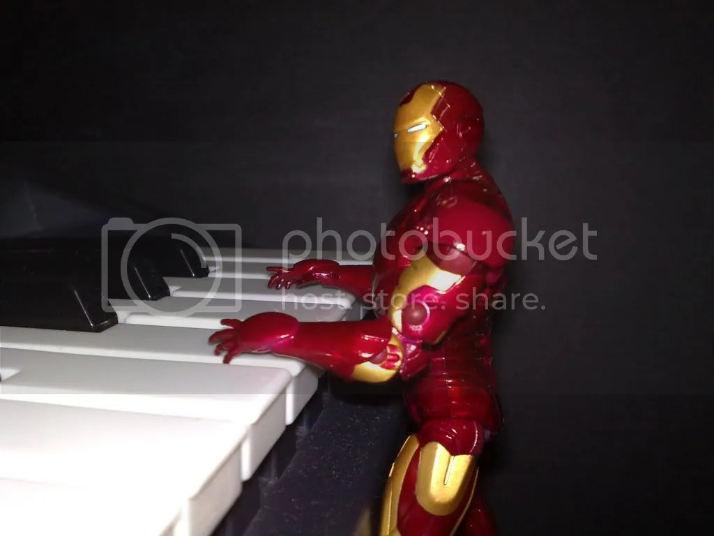ironman piano