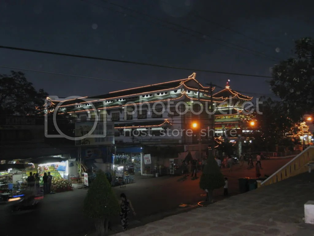 Châu Đốc - chùa bà chúa xứ đêm