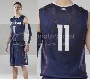 pretty nice 118bf 4e206 UConn Men To Wear New Nike Uniforms Against Syracuse | The ...