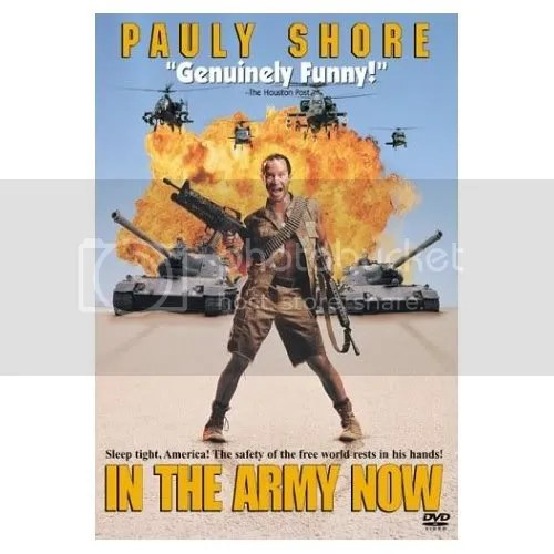 Pauly Shore: In the Army Now