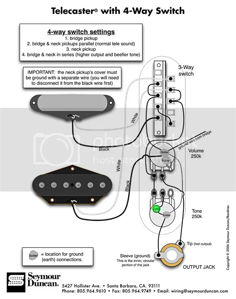 hight resolution of telecaster with 4 way switch wiring diagram photo tele 4ws jpg