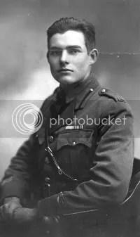 Hemingway in Milan, 1918