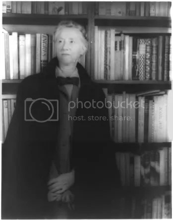 Marianne Moore in 1948 - photo by Carl Van Vechten