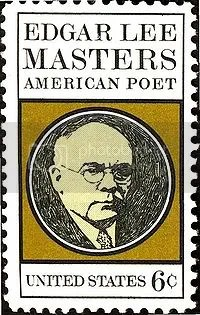 Edgar Lee MastersUS stamp