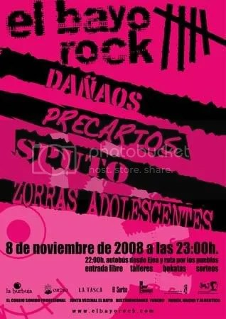Cartel de El Bayo Rock 5