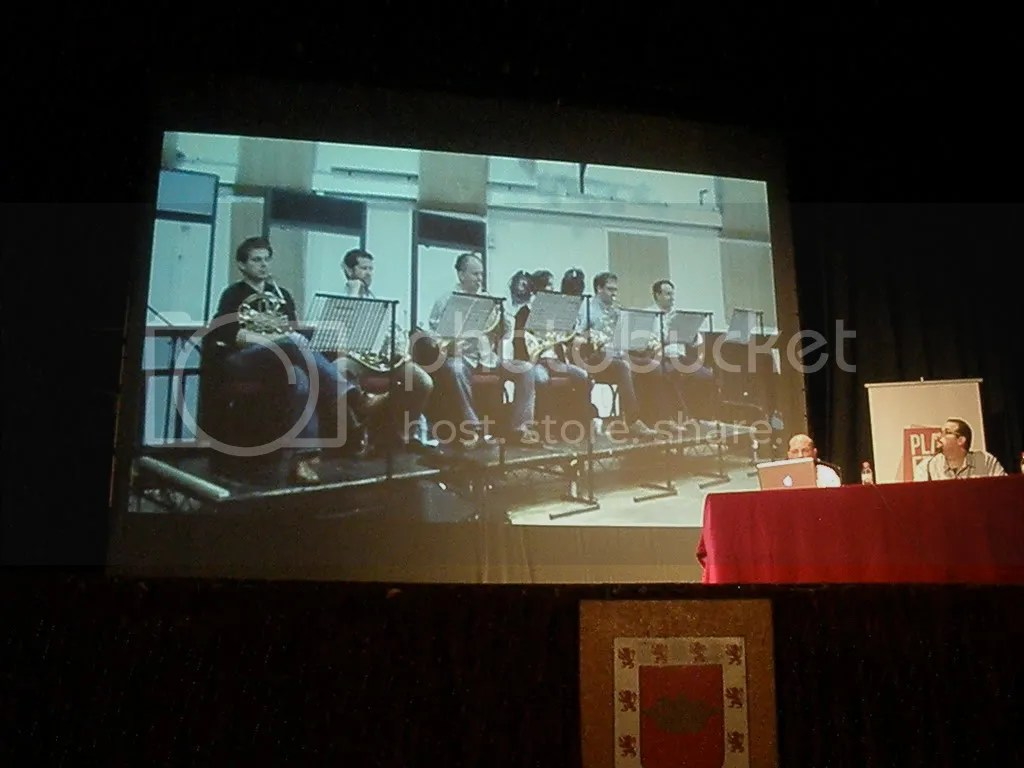Conferencia de Richard Jacques