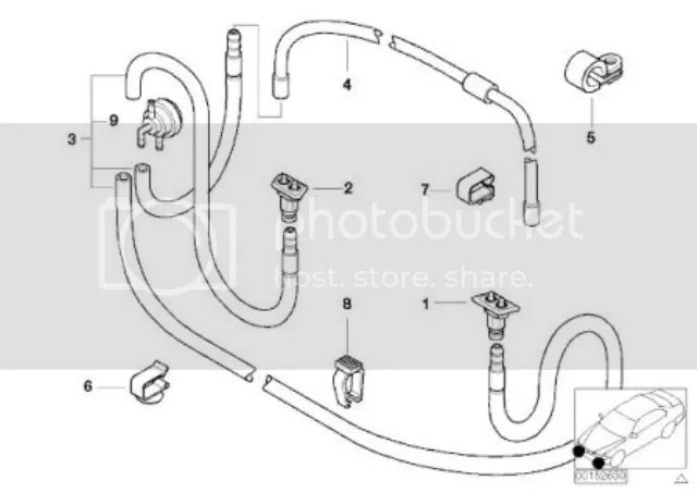 BMW E39 E87 1 5 Series E53 X5 E83 X3 Headlamp Light Washer