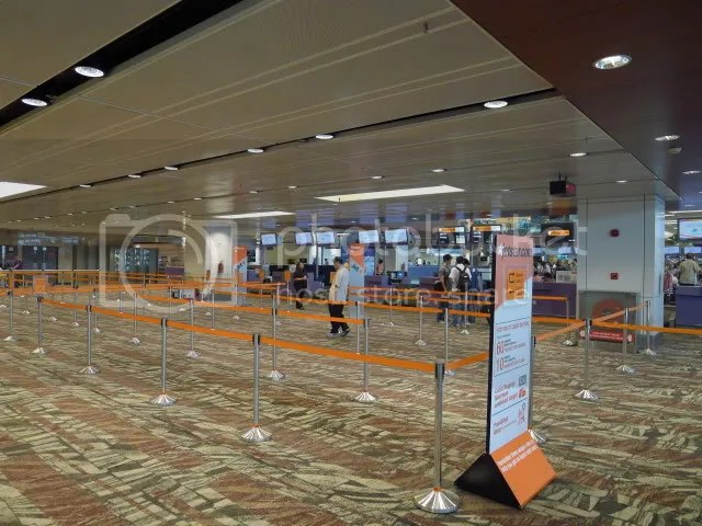how to go to changi airport terminal 1 by mrt