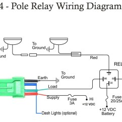 4 Pole Relay Wiring Diagram Coral Reef Food Chain For Hella Supertones Gm Horn