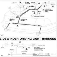 Spotlight Wiring Diagram With Switch Stihl 009 Chainsaw Parts Toyota Prado Www Toyskids Co Sidewinder Harness Led Module Business