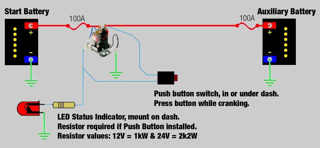 wiring diagram redarc dual battery system battery isolator problems exploroz forum design [ 1325 x 613 Pixel ]