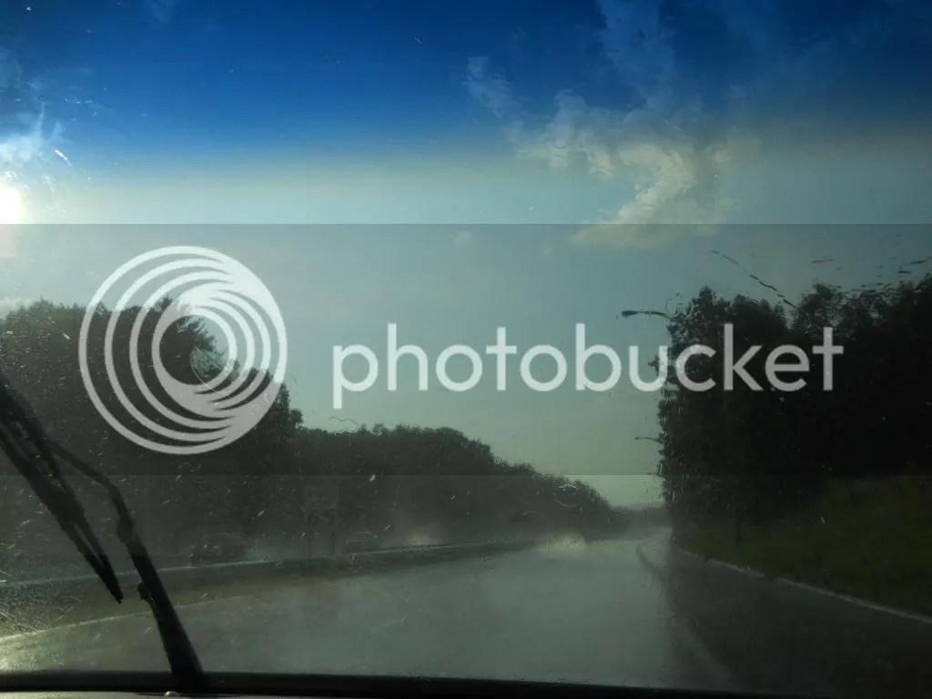 Intense rainfall, intense sunlight