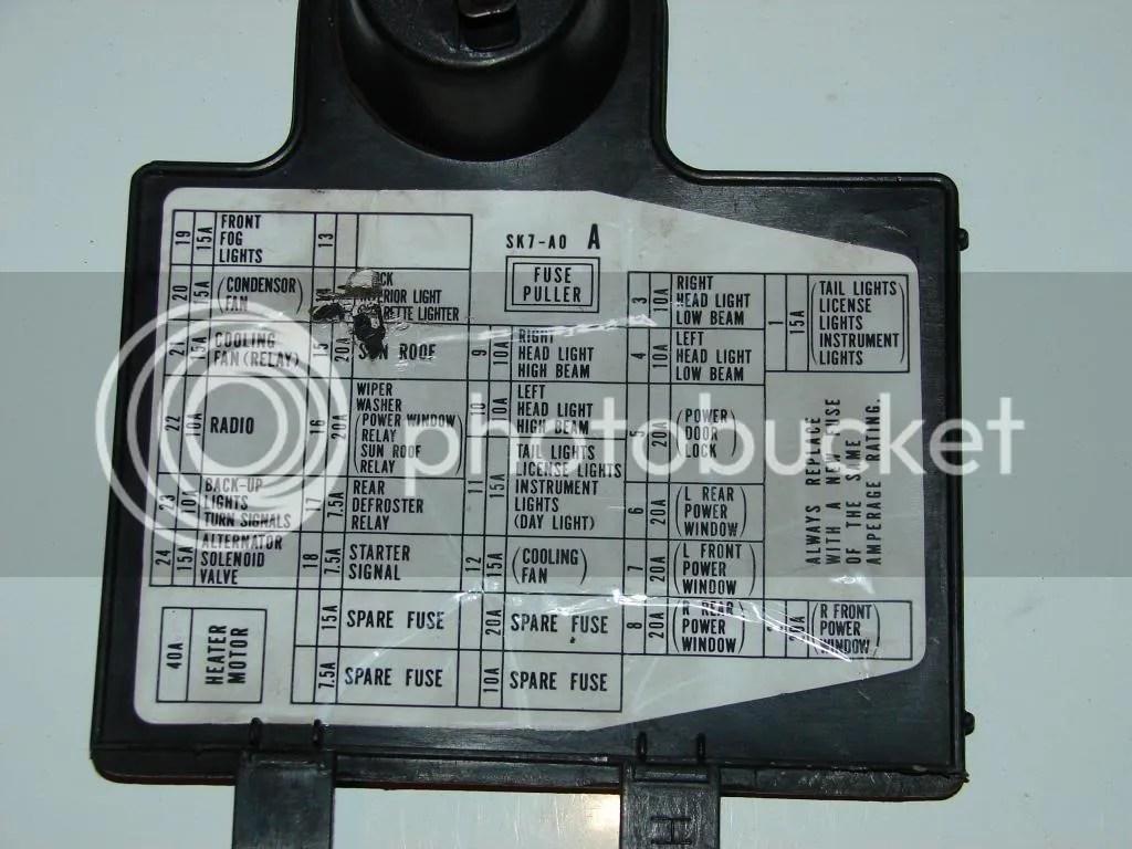 90 93 Integra Fuse Box Wiring Diagram Data Toyota Corolla Touch Diagrams