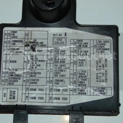 94 Integra Starter Wiring Diagram Travel Trailer V Front Missing Fuse From Interior Panel Pics Included