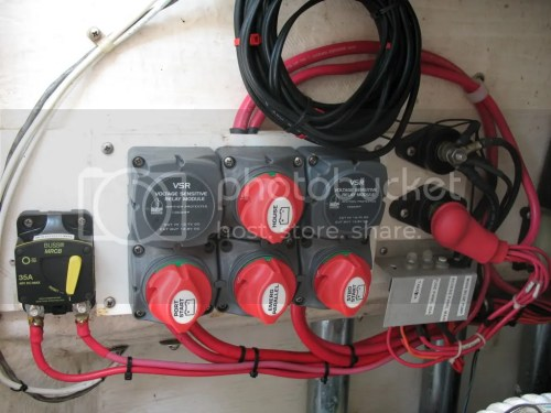small resolution of one for all grounds and one for house power distribution large gauge wire feeding the house post and then from there using smaller wires with circuit