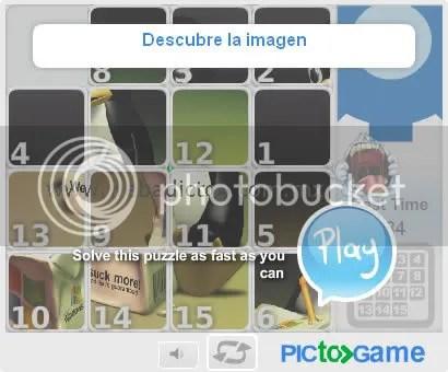 juego descubre la imagen Juego Descubre la Imágen