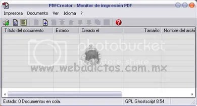 pdf creator screenshot1 PDF Creator Software Gratuito Para Crear Documentos PDF