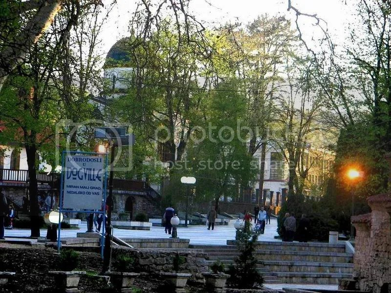 Sokobanja, centar grada