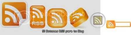 Botones RSS/Feed