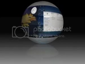 Compiz Fusion esfera