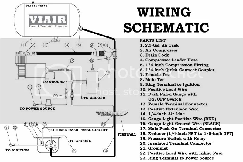 Wiring Diagram For Viair Compressor: Viair c compressor