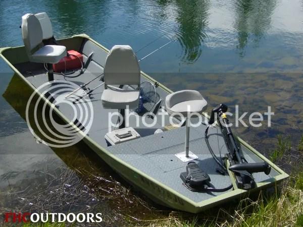 Custom Jon Boat to Bass Boat