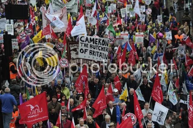 Manifesto em Londres-26-03-11